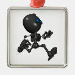 Robot Bionic del muchacho 3D - corriendo - origina Ornamento De Reyes Magos