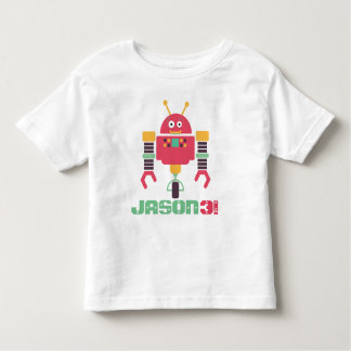 Robot Birthday Toddler T-shirt