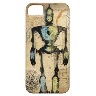 Robot Blueprint #1 iPhone SE/5/5s Case