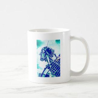 Robot Blues Coffee Mug