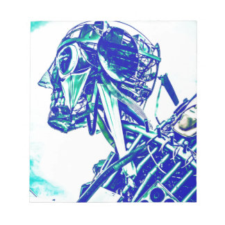 Robot Blues Memo Note Pad