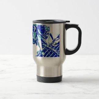 Robot Blues Travel Mug