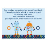Robot Book Request Cards / Baby Bots Business Cards