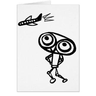 Robot Boy Card
