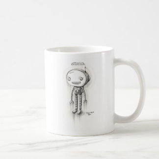 Robot Boy Classic White Coffee Mug