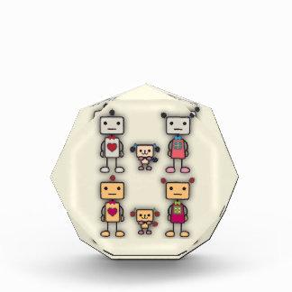 Robot Boy, Robot Girl, Robot Dog Acrylic Award