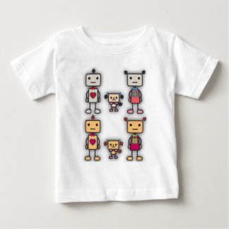 Robot Boy, Robot Girl, Robot Dog Baby T-Shirt