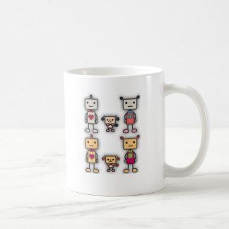 Robot Boy, Robot Girl, Robot Dog Coffee Mug