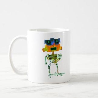 Robot BR Classic White Coffee Mug