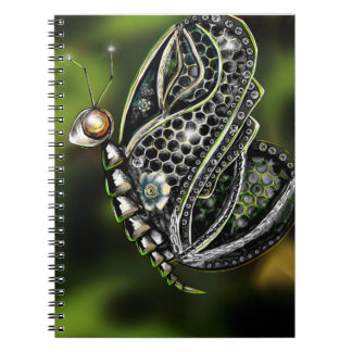 Robot Butterfly Notebook