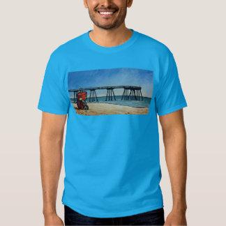 Robot By The Pier Tee Shirt