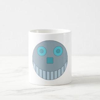 Robot cabeza robot head taza clásica