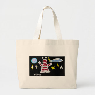 Robot Canvas Bags
