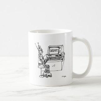 Robot Cartoon 3624 Coffee Mug