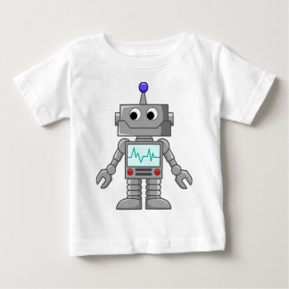 robot cartoon baby T-Shirt