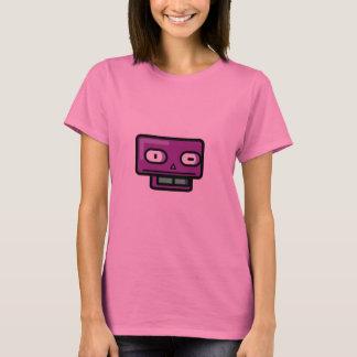Robot Cartoon Face T-Shirt