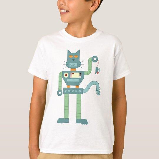 Robot Cat & Wind Up Mouse T-Shirt