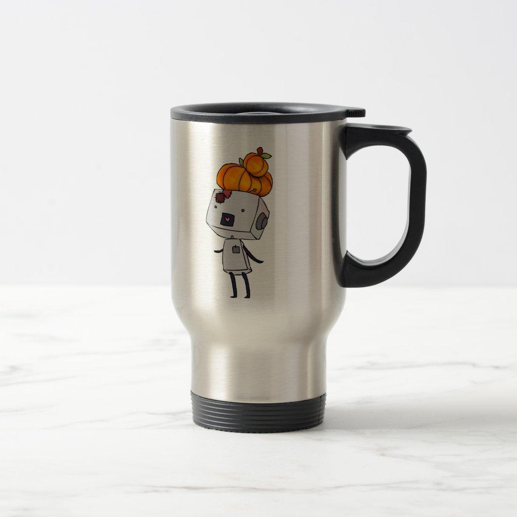 Robot-chan Pumpkin Mug