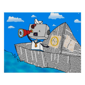 Robot-chan Sailor Poster