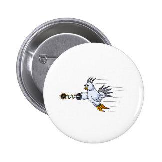 Robot Chicken Pinback Button