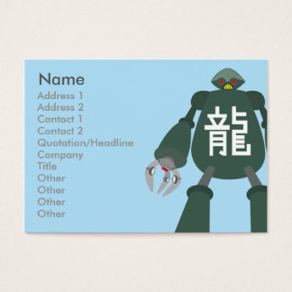 Robot - Chubby Business Card