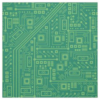 Robot Circuit Board Fabric