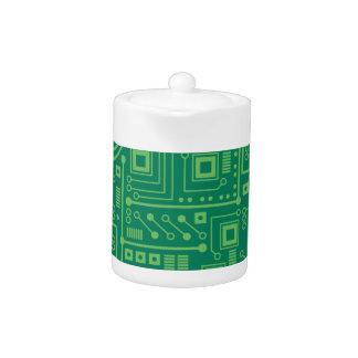 Robot Circuit Board Teapot