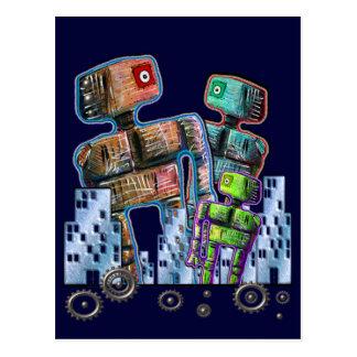 Robot City Postcard