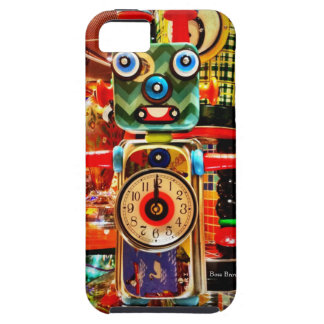 Robot Clock Recycled Art iPhone 5 Case