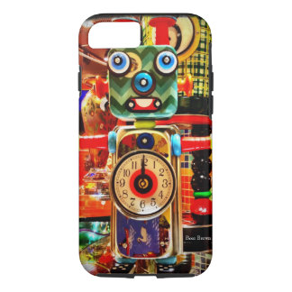 Robot Clock Recycled Art iPhone 7 case