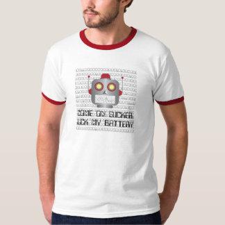"Robot ""Come On Sucker"" T-Shirt"