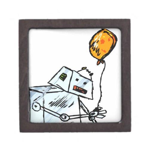 robot con el globo 1 cajas de regalo de calidad