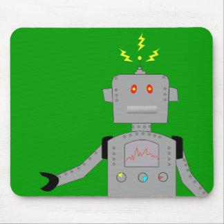 robot confuso alfombrilla de raton