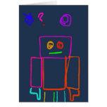 Robot confuso tarjeton