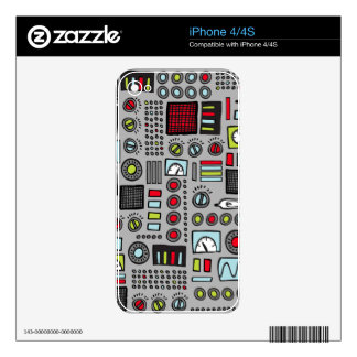 Robot Controls 3000 Skin For The iPhone 4S