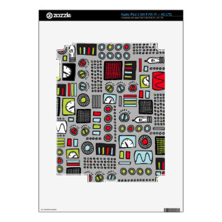 Robot Controls 3000 Skin For iPad 3