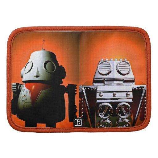 Robot cosechado retro 01 del juguete planificadores