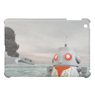 Robot Crash at Sea Speck Case iPad Mini Case