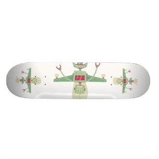 robot custom skateboard