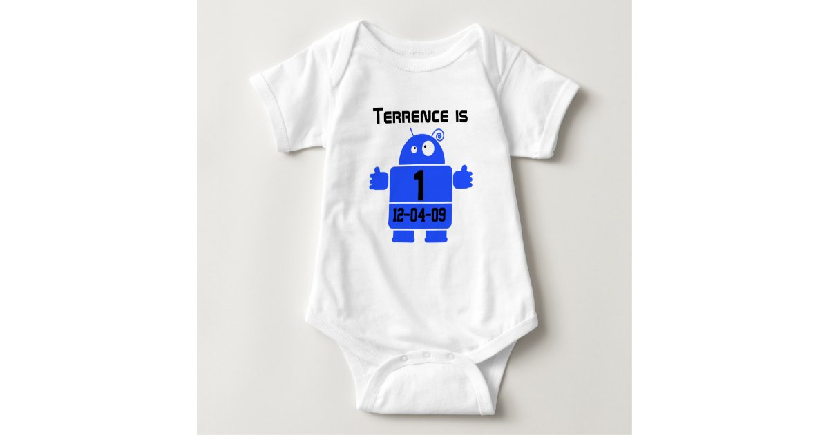 Robot customizable birthday t shirt zazzle for Zazzle custom t shirts