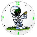 Robot de Asimo Reloj
