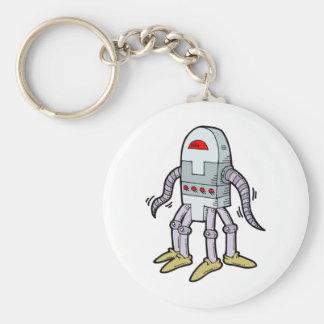 Robot de BEE-GOO BOT 7000 Llavero Redondo Tipo Pin
