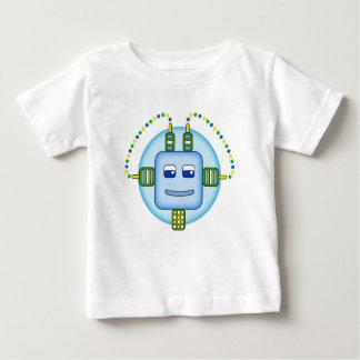 Robot de Booboobot - camiseta del jersey del bebé