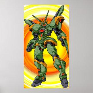 Robot de Camo del animado Poster