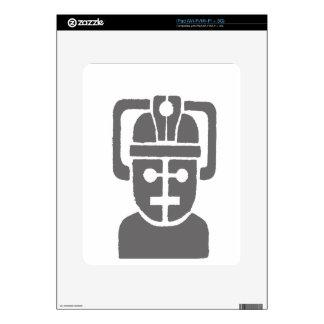 Robot de espacio calcomanía para iPad