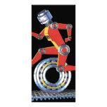 Robot de la ciencia ficción del vintage, lonas personalizadas