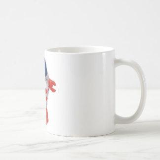 Robot de la conclusión del vintage taza clásica