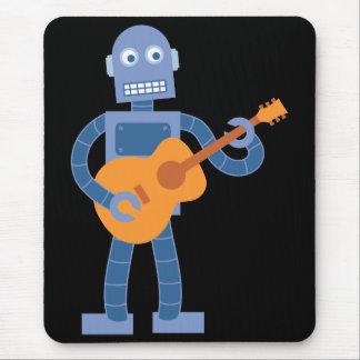 Robot de la guitarra mouse pads