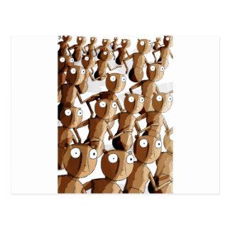 Robot de madera de baile Gofers Postal