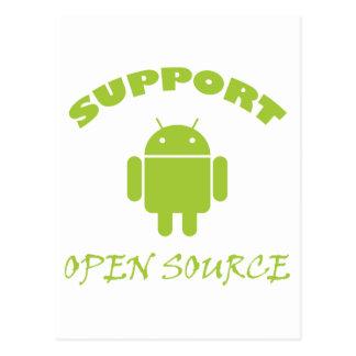 Robot de Open Source de la ayuda Postales